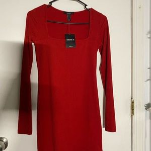 Forever 21 Red Bodycon Dress